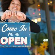 Small business - come in, we're open